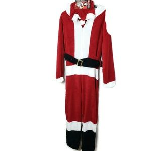 NWT Santa Adult Small Full Body Costume